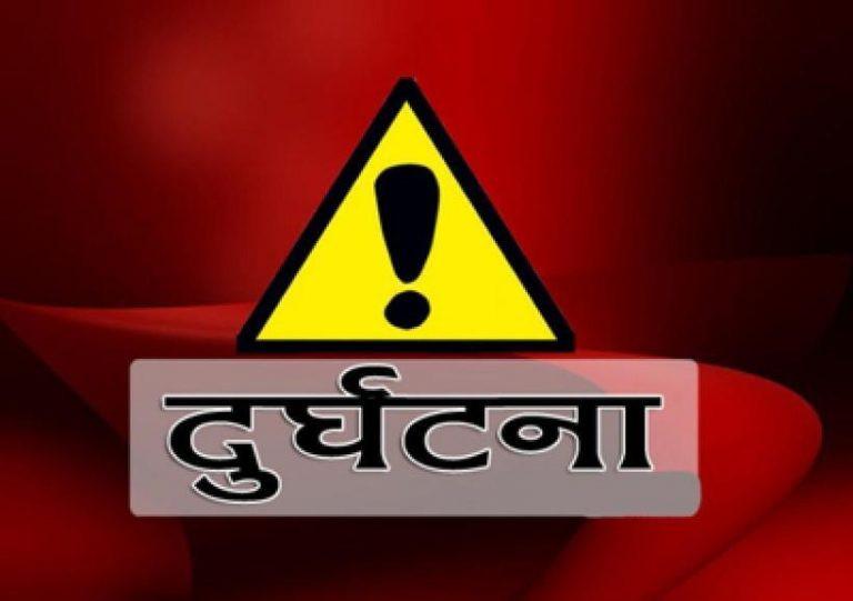 कालीगण्डकीमा एम्बुलेन्स खस्यो, चालक वेपत्ता