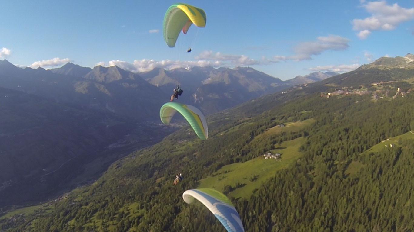 जुम्लामा प्याराग्लाइडिङ परीक्षण उडान