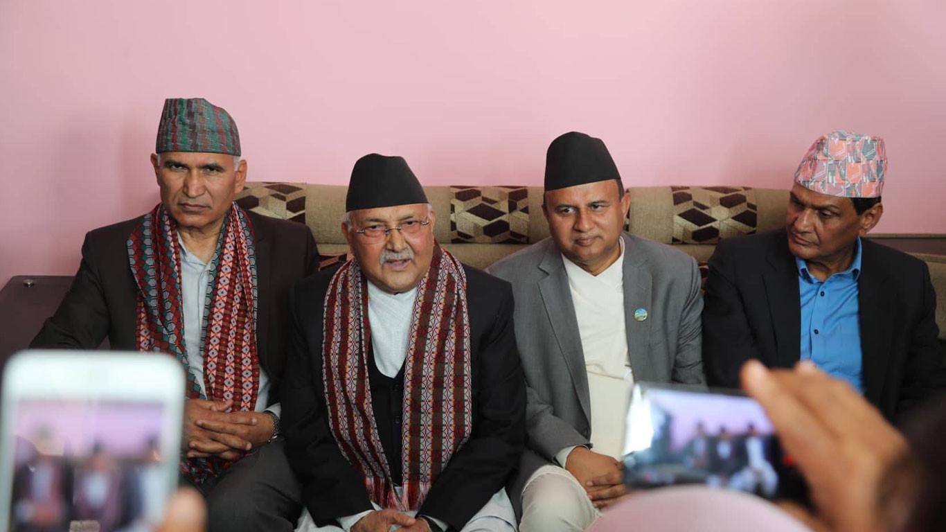 पार्टी एकता आकस्मिक रुपमा टुङ्गीन्छः प्रधानमन्त्री