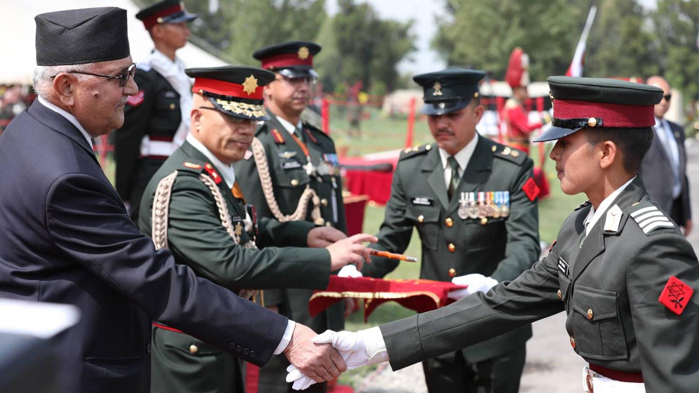 एकीकरण र सेनाको सम्बन्ध अन्योन्याश्रित : प्रधानमन्त्री