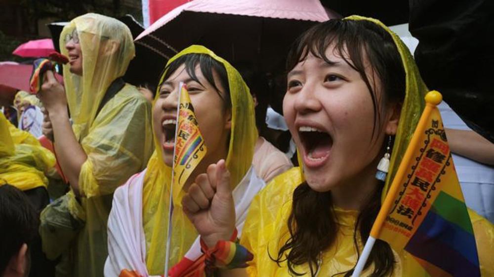ताइवानमा समलिंगी विवाहलाई कानुनी मान्यता