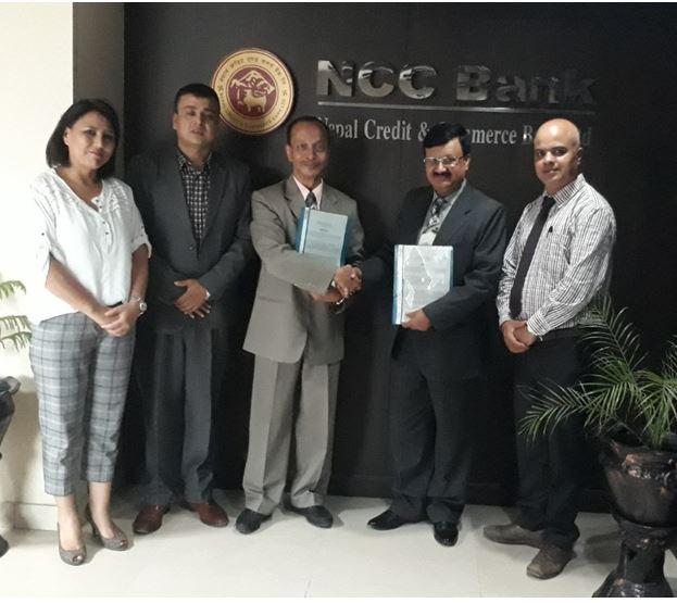 एनसीसी बैंक र भाटभटेनी मनी ट्रान्सफरबीच विप्रेषण सम्झौता