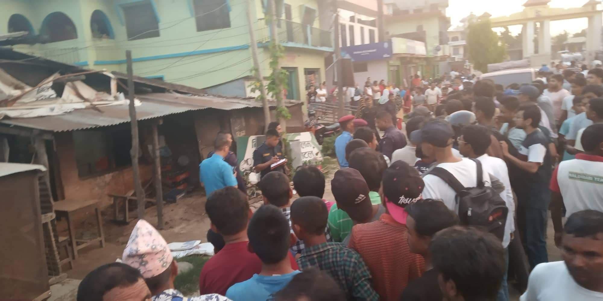 धनगढीमा विस्फोट हुँदा पाँच घाइते, घटनास्थलमा पेस्तोल भेटियो