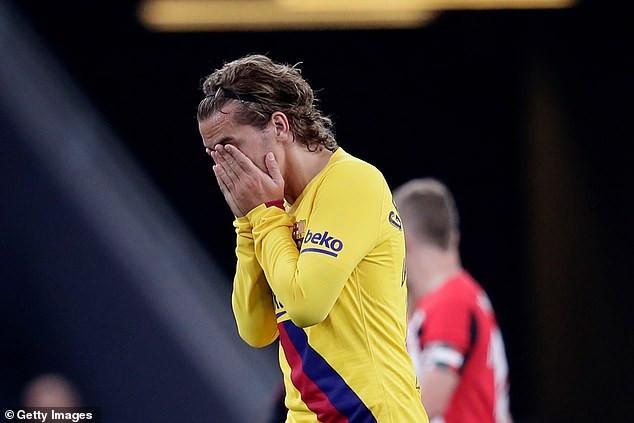 मेस्सी अनुपस्थित खेलमा बार्सिलोना पराजित