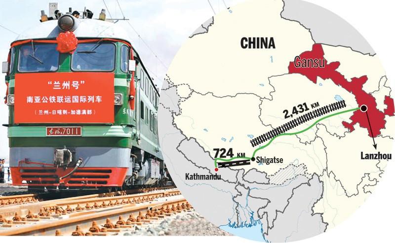 चीनको प्राथमिकतामा छैन केरुङ–काठमाडौं रेल