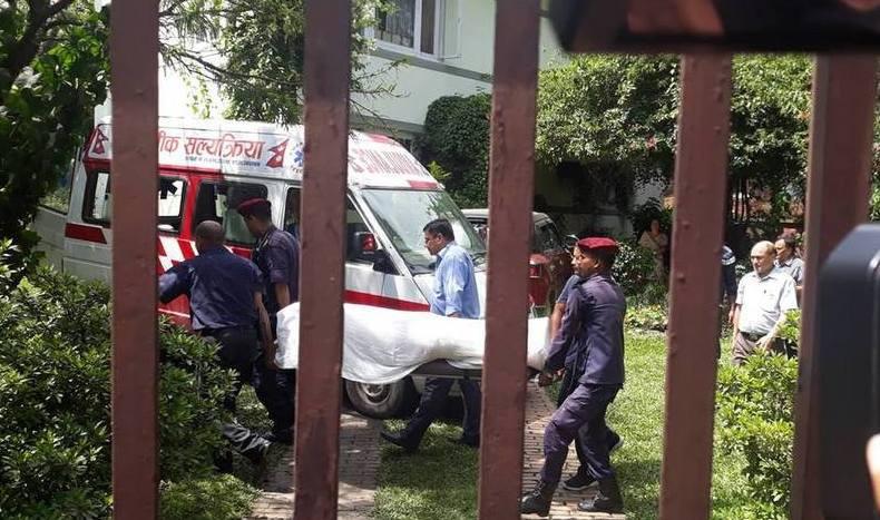 पूर्वराजदूत झा हत्याका अभियुक्त तामाङ जेल चलान