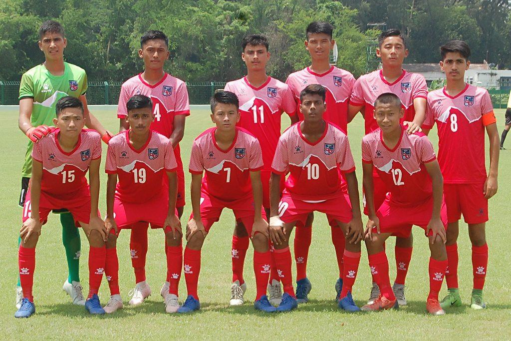 साफ यू–१५ च्याम्पियनसिप : नेपाललाई ७–० गोलले हराउँदै भारतले लग्याे उपाधि