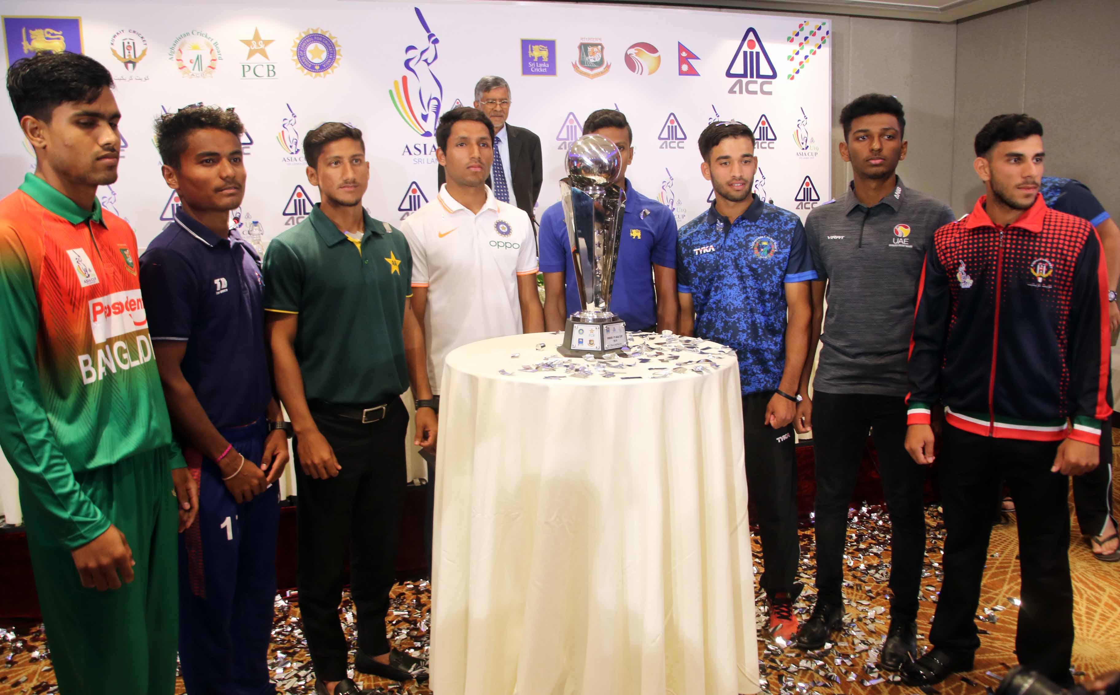 यू-१९ एसिया कप क्रिकेट आजबाट, नेपालको खेल भोलि