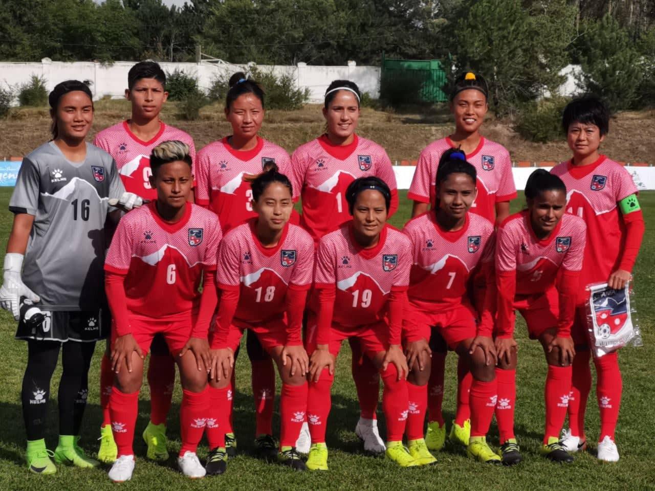 साग अपडेटः महिला फुटबलमा नेपालको जित