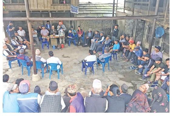 गाउँ व्यवस्थित गर्न भदौ सभा