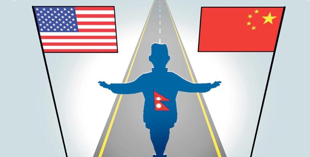 चीन–अमेरिका द्वन्द्वमा नेपाल
