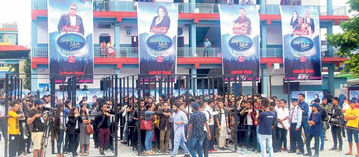 नेपाल आइडल सिजन थ्री : संगीतमय बन्याे पाेखरा