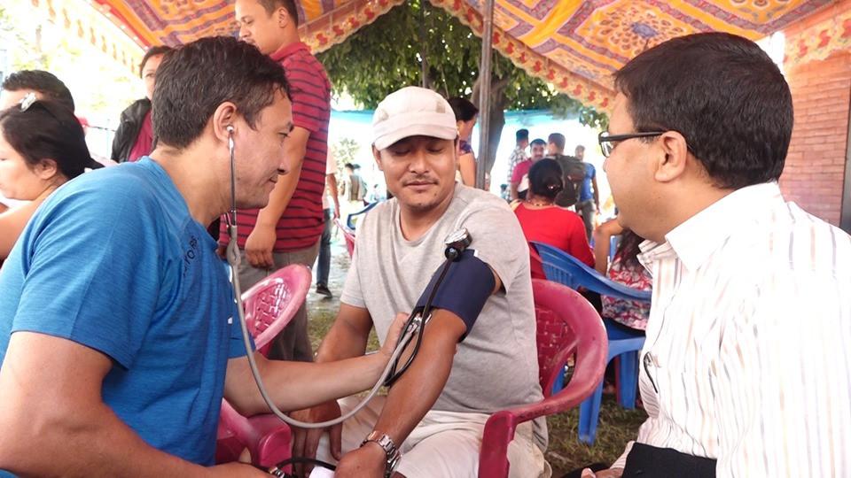 काठमाडौंको हाँडीगाउँमा रक्तदान कार्यक्रम सम्पन्न