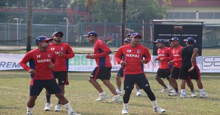 टी–२० क्रिकेट : दोस्रो खेलमा नेपालको जित