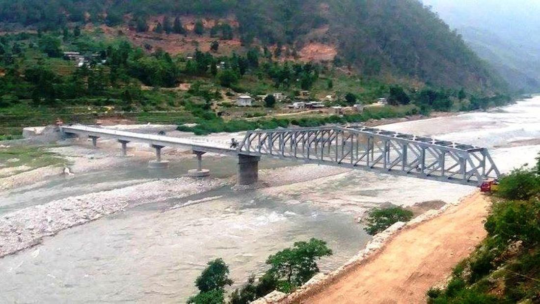 म्याग्दीको पश्चिम क्षेत्रमा सात पक्की पुल बन्दै