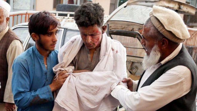 अफगानिस्तानको मस्जिदमा शक्तिशाली विस्फोट, ६२ को मृत्यु