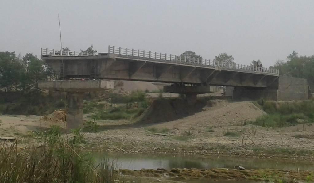 बुद्ध सर्किटमा पर्ने निर्माणाधीन पुल ९ वर्ष देखि अलपत्र