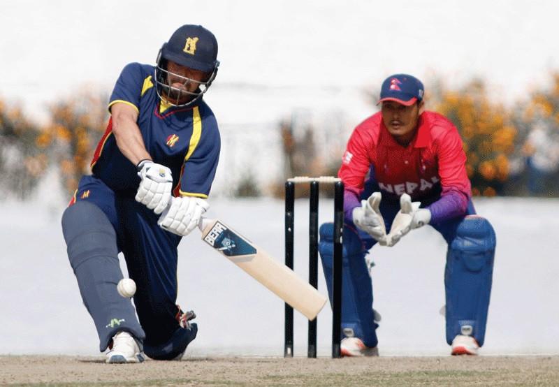 एमसीसीविरुद्व तीन दिवसीय 'फस्ट क्लास' क्रिकेट आजबाट