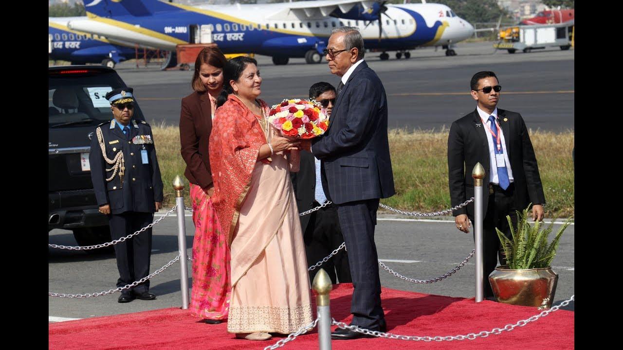बंगलादेशका राष्ट्रपति आज औपचारिक छलफल र भेटघाटमा व्यस्त