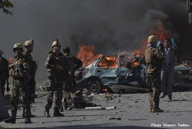 काबुलमा बम बिस्फोट, सात जनाको मृत्यु