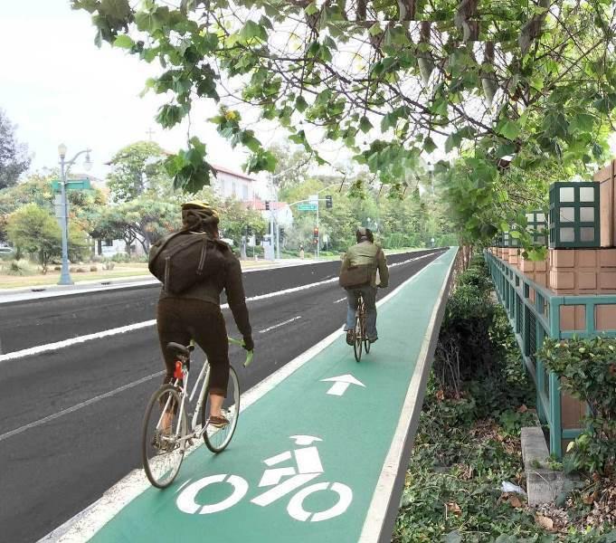 ललितपुरमा साइकल लेन निर्माण सुरु