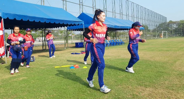 महिला क्रिकेटमा नेपाल बंगलादेशसँग १० विकेटले पराजित