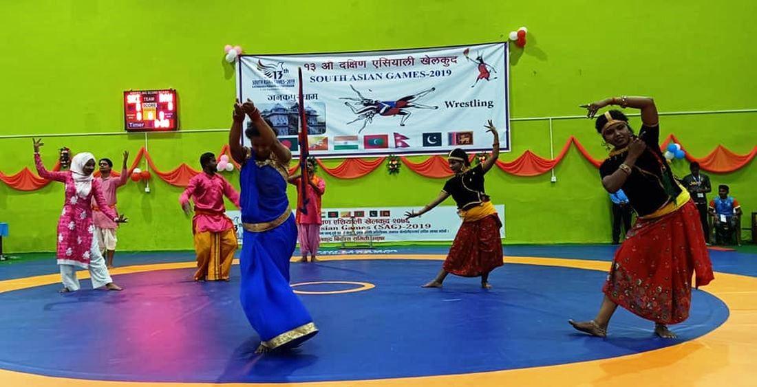 जनकपुर सागमा कुस्ती सुरु, उद्घाटनमा भव्य सांस्कृतिक कार्यक्रम