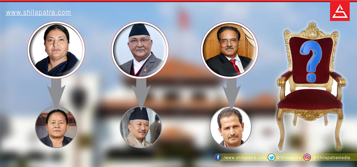 सभामुख विवाद : राष्ट्रपति, प्रधानमन्त्री र अध्यक्षका आ–आफ्नै उम्मेदवार
