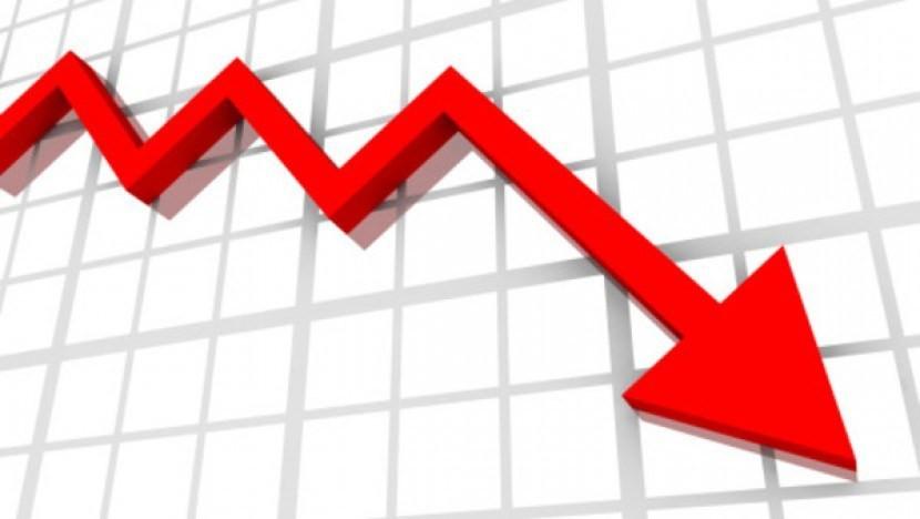 शेयर कारोबारमा गिरावट