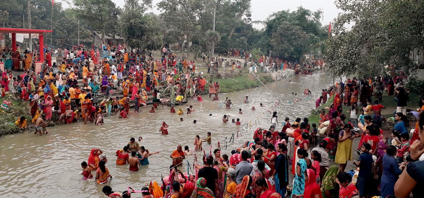 रुप फेर्दै त्रेतायुगिन इतिहास बोकेको दूधमती नदी