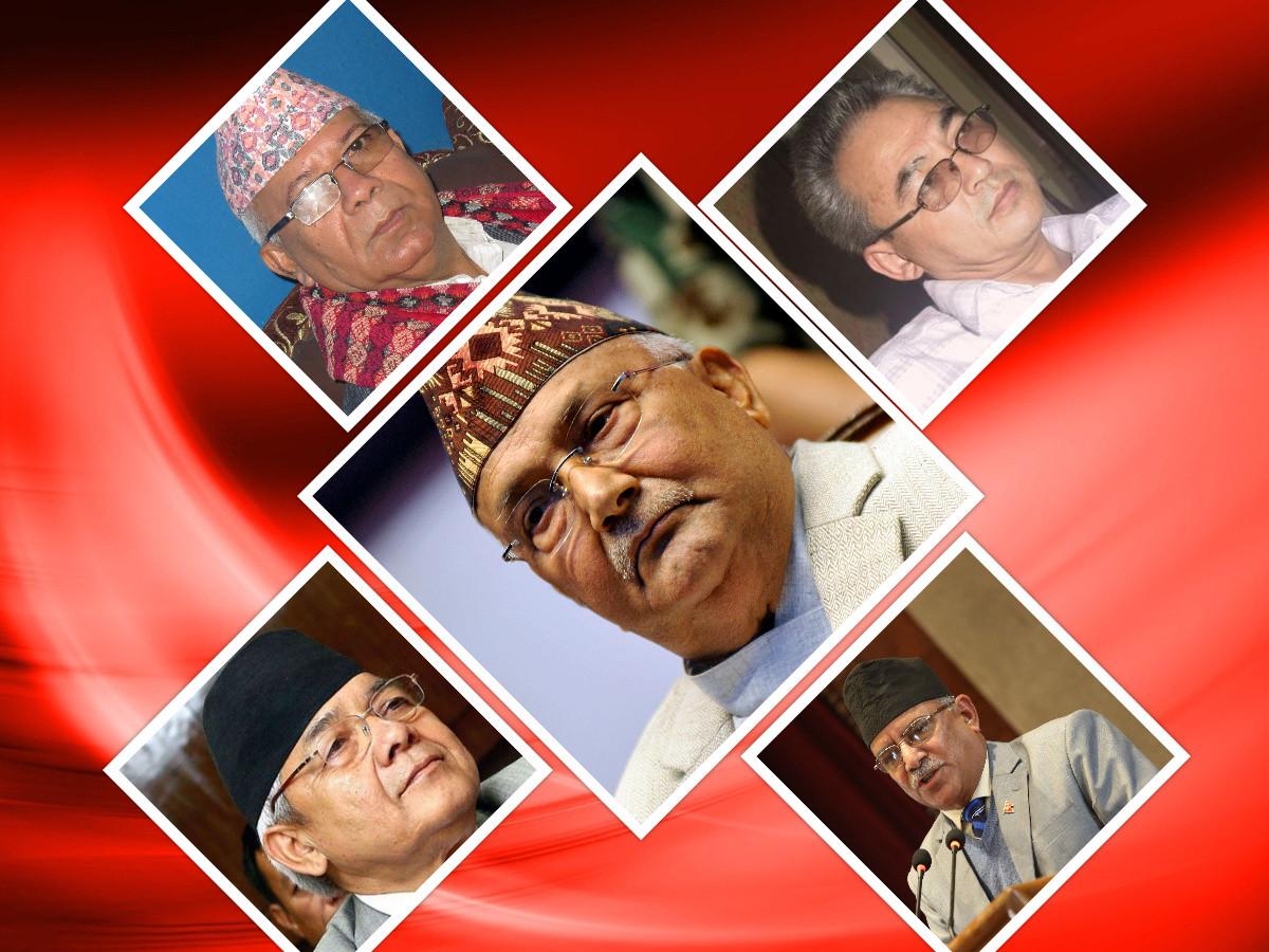 नेकपा शीर्ष नेता गुटबन्दीमा : अध्यक्षबाटै निर्देशन उल्लंघन