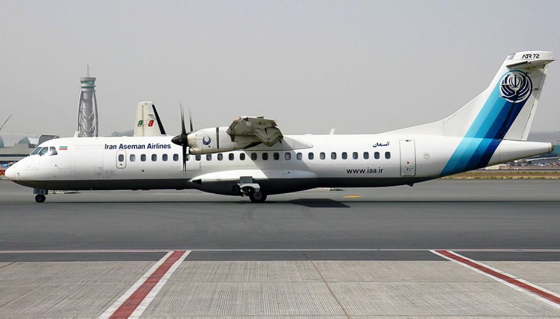 इरानी विमान सडकमा अवतरण, सबै यात्रु सकुशल