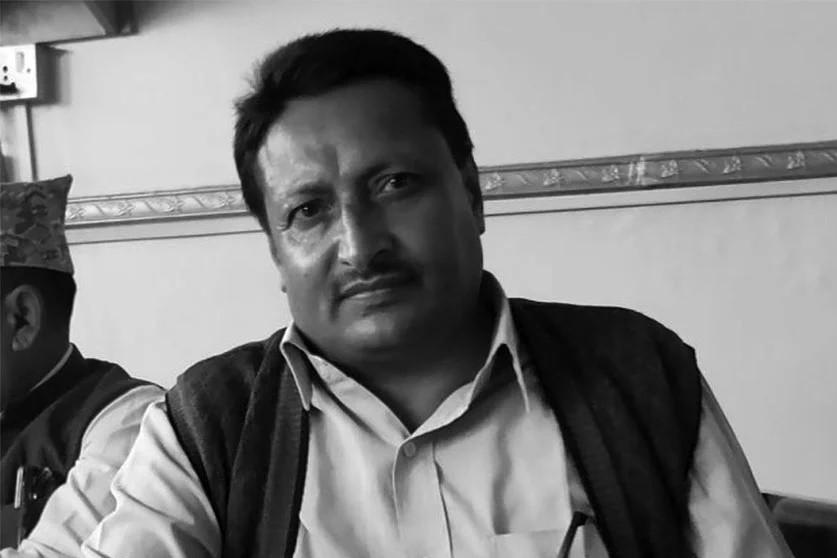 नेकपा काभ्रेका नेता गिरी बानेश्वरमा मृत भेटिए, ४ जना नियन्त्रणमा