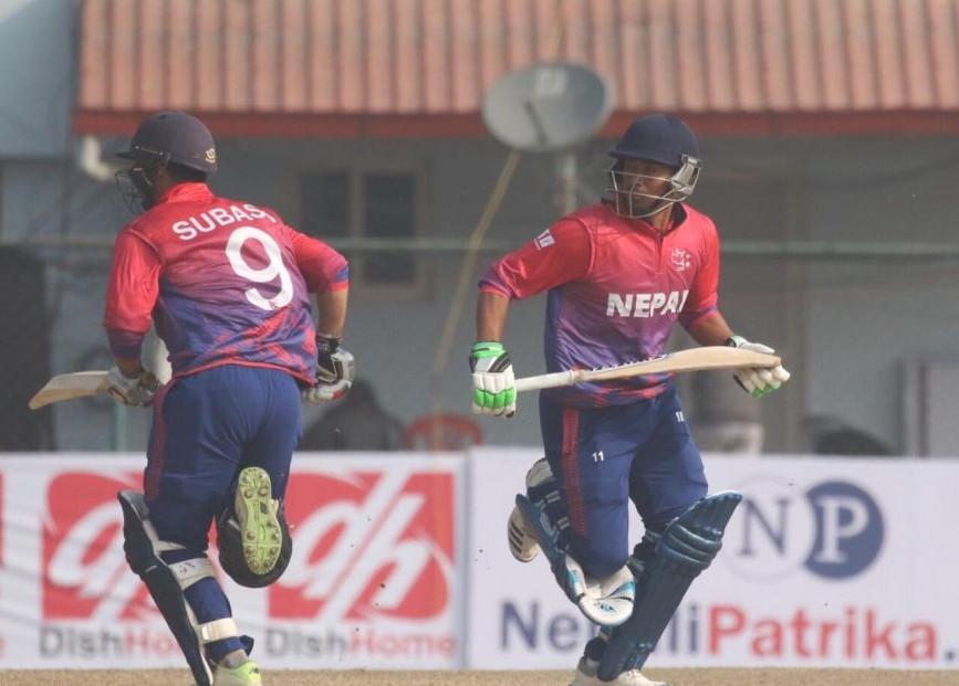 अमेरिकाविरुद्ध नेपाल ३५ रनले विजयी