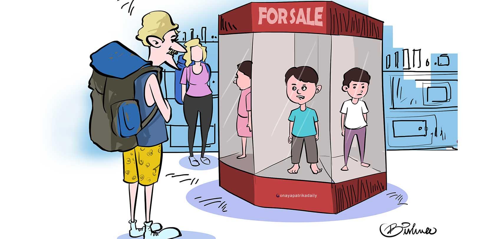आठ–आठ हजार डलर लिएर बालबालिका विदेश पठाउने कारोबारमा सरकार