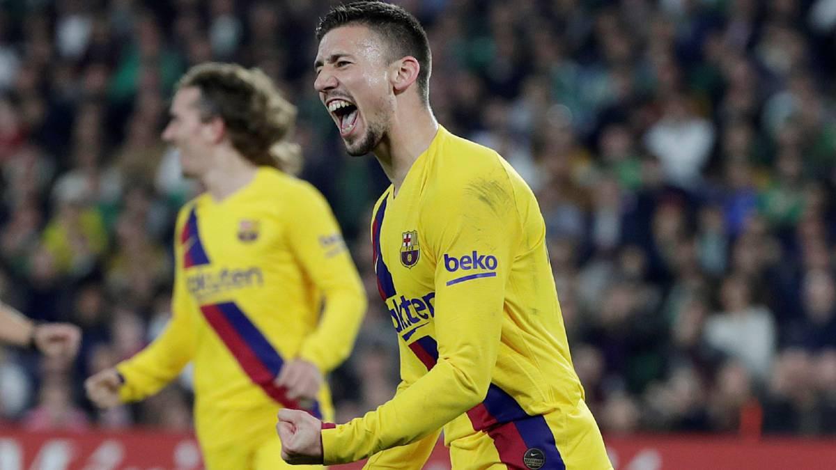 बार्सिलोनाको संघर्षपूर्ण जीत, विजयी गोलपछि रातो कार्ड