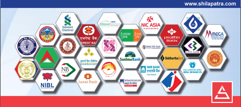 नाफामा सेञ्चुरी बैंक अगाडि, बैंक अफ काठमाण्डूकाे नाफा २७ प्रतिशतले घट्याे