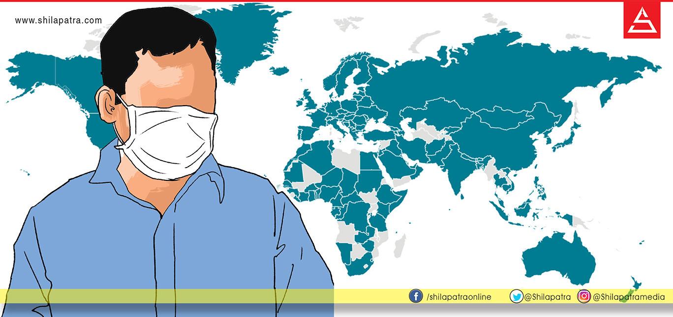 नेपालभित्र कोरोना सरेको पहिलो घटना, संक्रमितको संख्या ९ पुग्यो