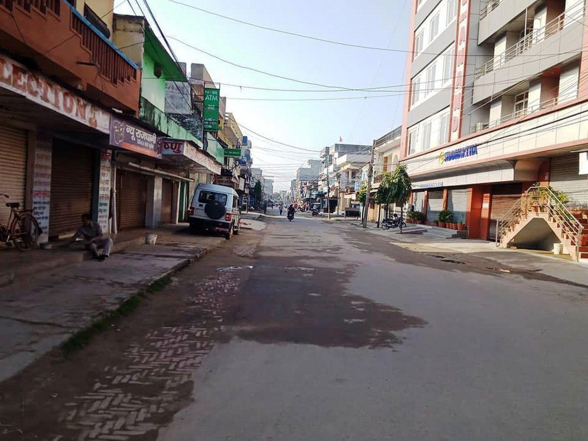 'लकडाउन' पछिको महेन्द्रनगर बजार