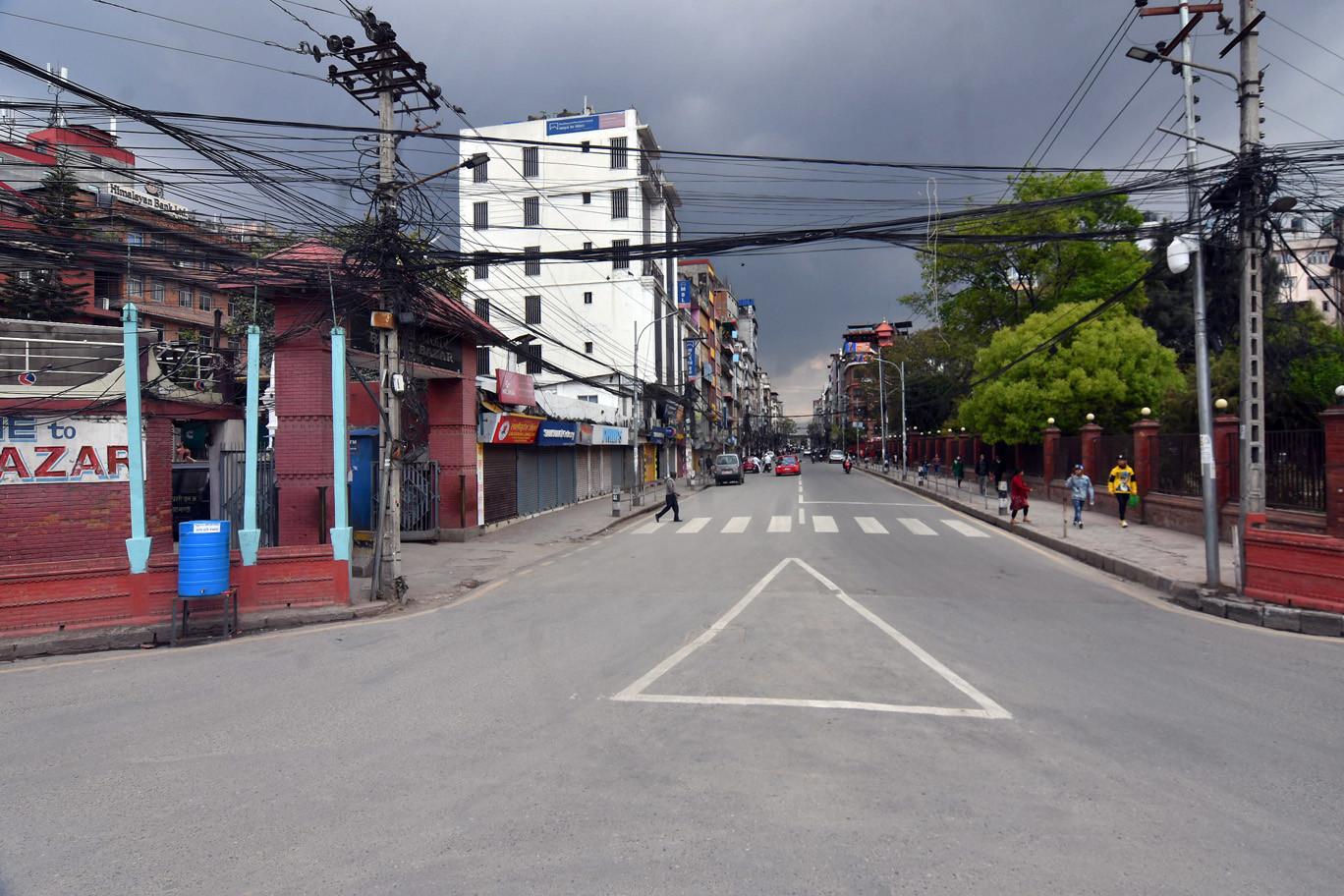 सुनसान काठमाडौं, त्रसित नागरिक