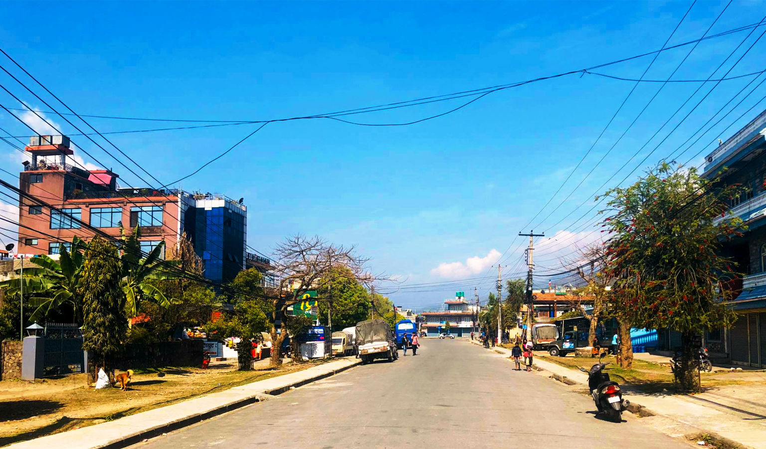 लकडाउनको दोस्रो दिन : सुनसान पोखरा [फोटो फिचर]