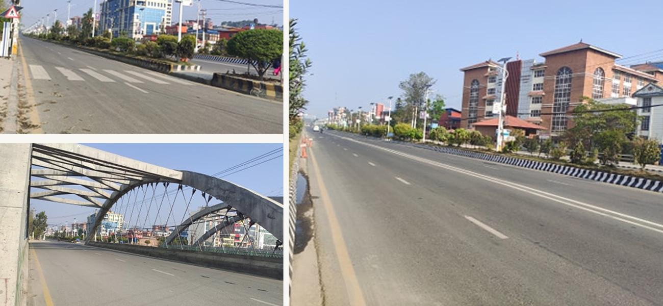 'लकडाउन'को तेस्रो दिन काठमाडौंमा थप कडाइ, 'रमिते बन्न ननिस्कनू बाहिर' (फोटो फिचर)