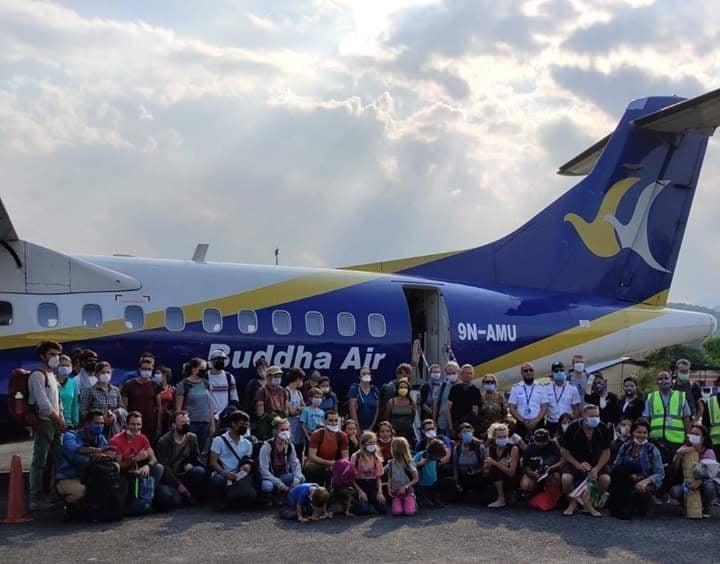 आफ्ना नागरिकलाई फ्रान्सले पोखराबाट विमान चार्टर्ड गरेर काठमाडौं लग्यो