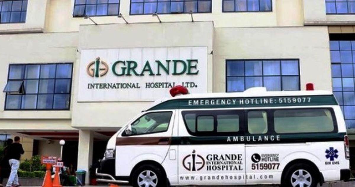 ग्राण्डी अन्तर्राष्ट्रिय अस्पतालमा ३० शय्याको क्वारेन्टाइन