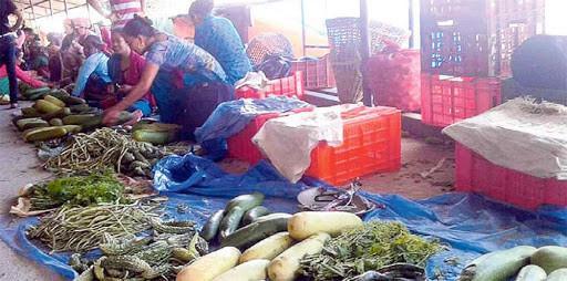 कालिमाटीमा ८० प्रतिशत ग्राहक घटे, कुहिन थाल्यो तरकारी