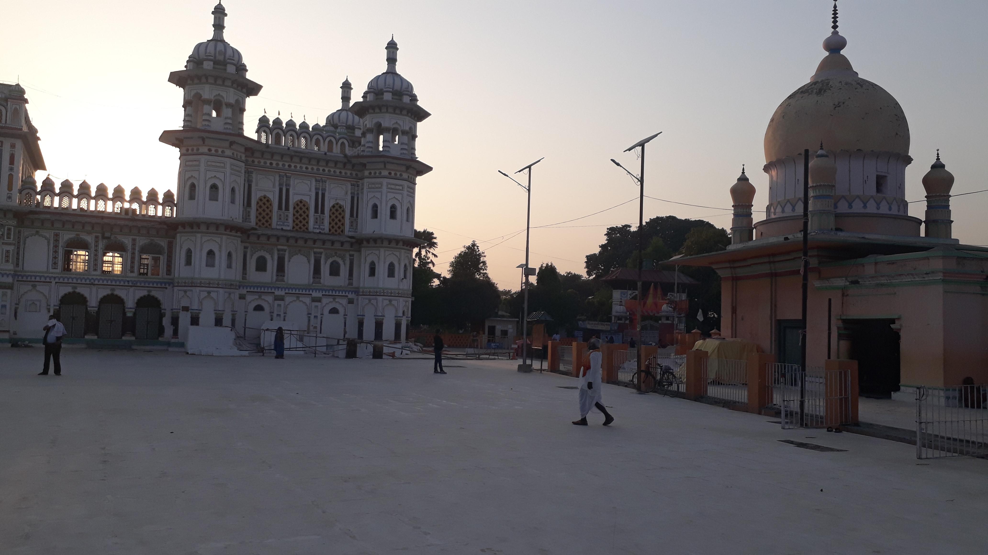 रामनवमीमा पनि शान्त जनकपुर (फोटो फिचर)