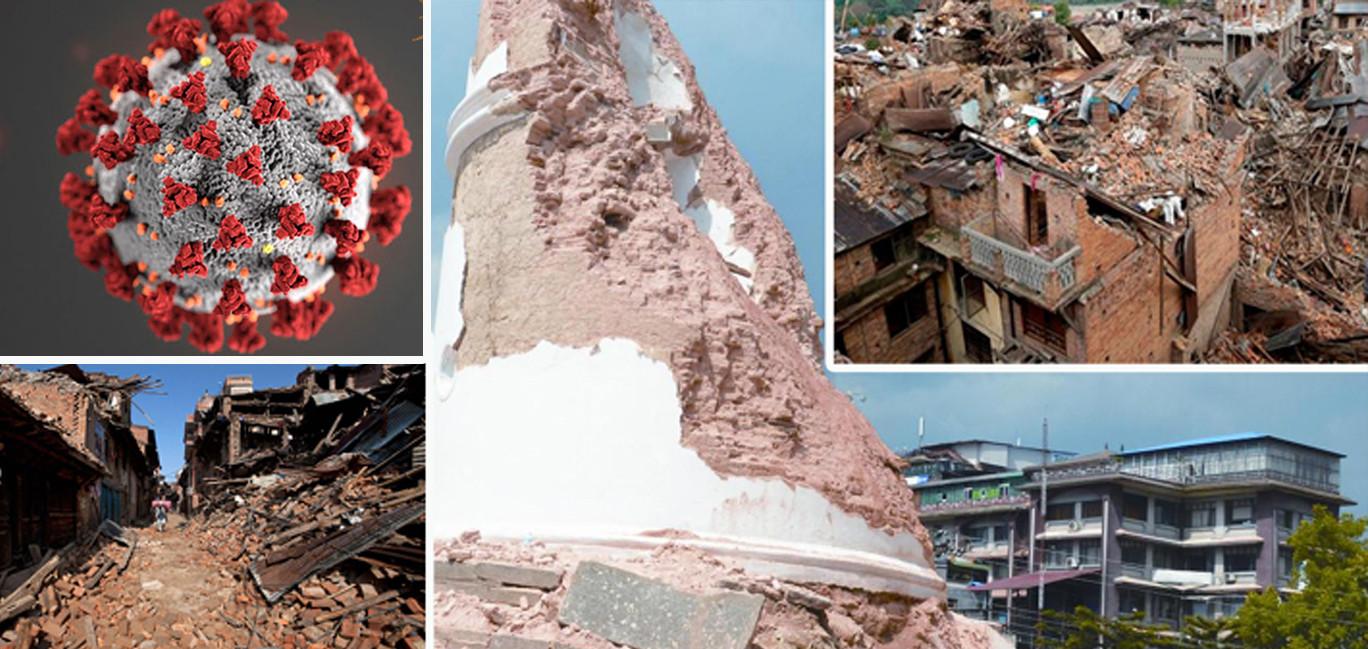 भूकम्पले सिर्जना गरेको रोजगारी कोरोनाका कारण गुम्दै