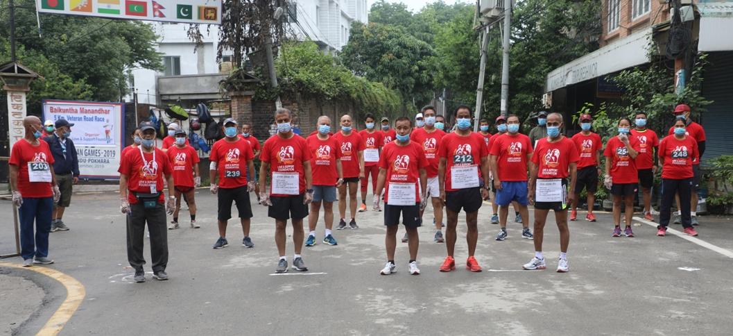 काठमाडौंमा कोरोना सचेतना दौड