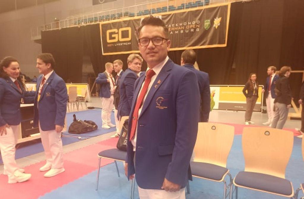 हिरोज तेक्वान्दो प्रतियोगितामा खड्का उत्कृष्ट निर्णायक