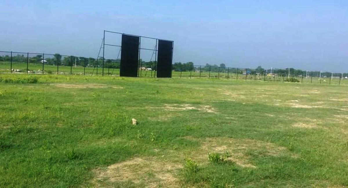 क्रिकेट मैदान स्तरोन्नतिमा पदाधिकारी विश्वस्त, उपलब्धि भने शून्य